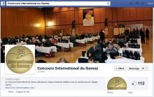 Le Concours International du Gamay s'offre dès aujourd'hui une toute nouvelle page Facebook !  Plus ouverte, plus interactive, elle vous permettra de mieux découvrir les coulisses du concours (photos, palmarès, etc).   Pour le