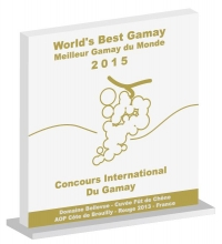 Trophy for 'The World's Best Gamay': the ultimate award