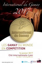 The 7th edition of the International Gamay Competition will take place on the 14th January 2017 at the Cité Internationale Congress Centre in Lyon.« World's Best Gamay Trophy » A grand jury will once again this year re-taste all the wines which have obtained a gold medal to determine which is the World's Best Gamay 2017.It will be the successor to the Domaine des Maisons Neuves Chiroubles which won the Trophy in 2016.The winner will be presented with the Trophy at the awards ceremony. Conscious of the fact that the grape variety is one of the principal selection criteria for the consumer when choosing wine, Inter Beaujolais decided in 2011 to promote Gamay, the emblematic variety of their region, by organising the first International Gamay Competition, in partnership with Armonia.The aims of this competition are:-       To continue to raise customer perception and reinforce the notoriety of Gamay; particularly as this grape variety corresponds perfectly to current customer demands:-       To increase awareness amongst producers, influencers and consumers of the diversity and qualities of Gamay worldwide.Since 2014 the competition has been accredited by the DGCCRF (a regulatory body which is part of the French Ministry of Economy and Finance), and certifed ISO 9001 via ARMONIA, the organisers.The competition is open to producers the world over who make wines from Gamay.Following tasting by a jury of experts and wine professionals, the International Gamay Competition recompenses the wines that best embody the qualities of this grape. Producers can enter right up to the 23rd December by completing the entry form directly on-line on the competition website.Inter Beaujolais will reveal les results of the competition on the 19th January 2017.Interesting in being a member of the jury?Register directly on the Wine Tasters section on the website: www.concoursgamay.com