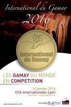 Concours International du Gamay : Rendez-vous le 16 Janvier !